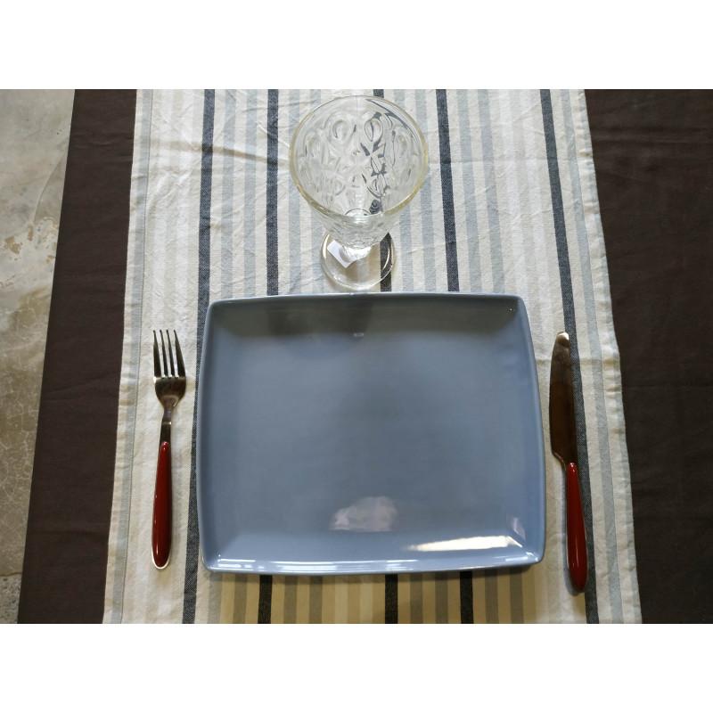 assiettes- RECTANGLE- PLATE 27 CM